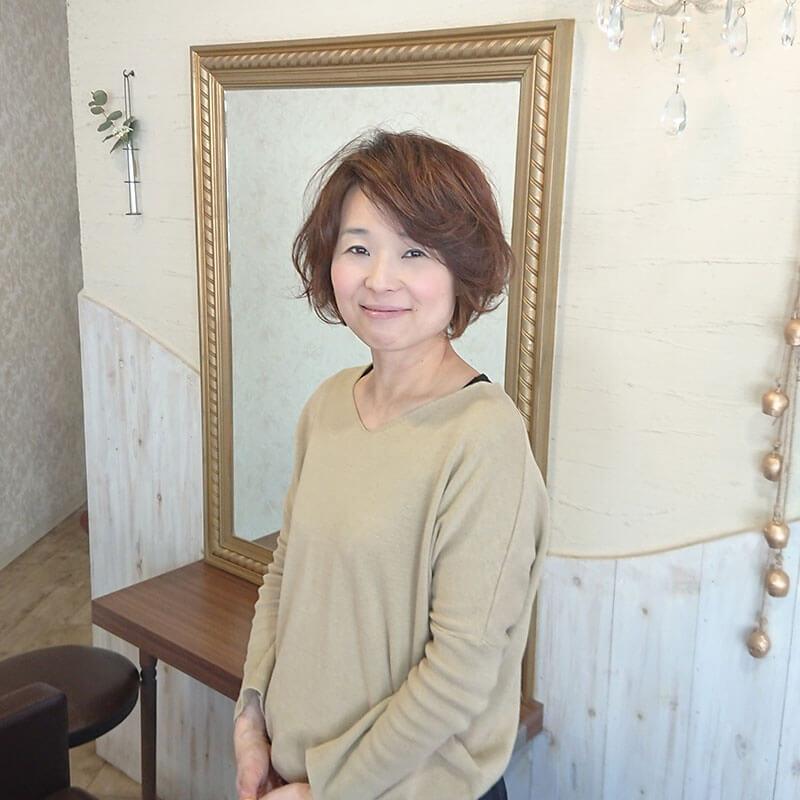 大野城市下大利の美容室フォス 西川 由希子(にしかわ ゆきこ)