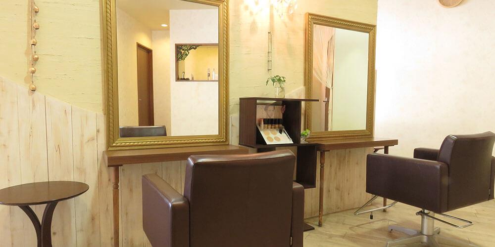 大野城市下大利の美容室フォ お店内観イメージその1